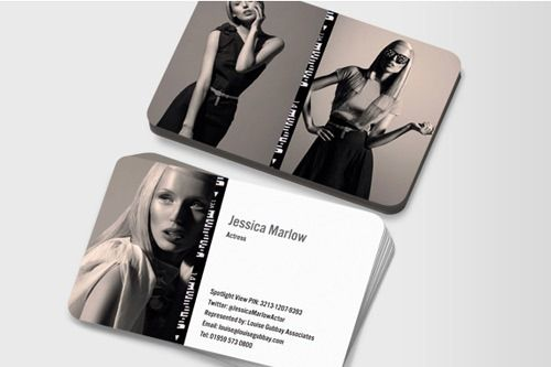 Actors business cards google search working girl pinterest actors business cards google search reheart Gallery