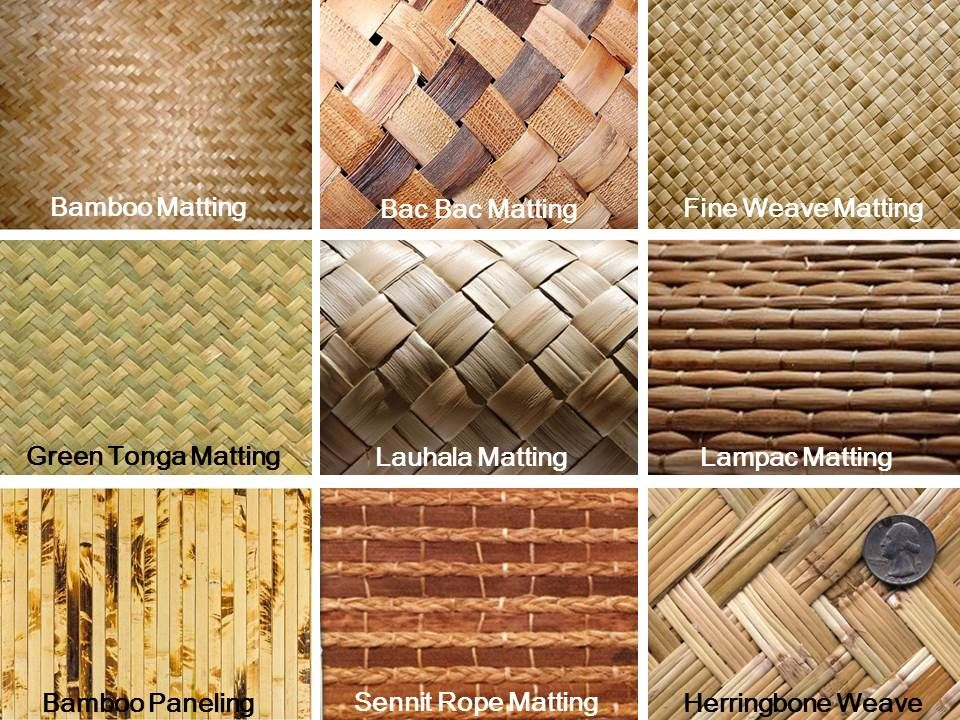 Here At Www Decoratewithbamboo Com We Have Several Types Of Wall Covering To Add An Organic Feel To Your Tropical T Bamboo Ceiling Bamboo House House On Stilts