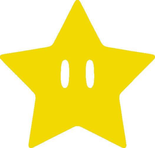 Mario Super Star Vinyl Decal Sticker by JoesCraftShack on Etsy, $2.50