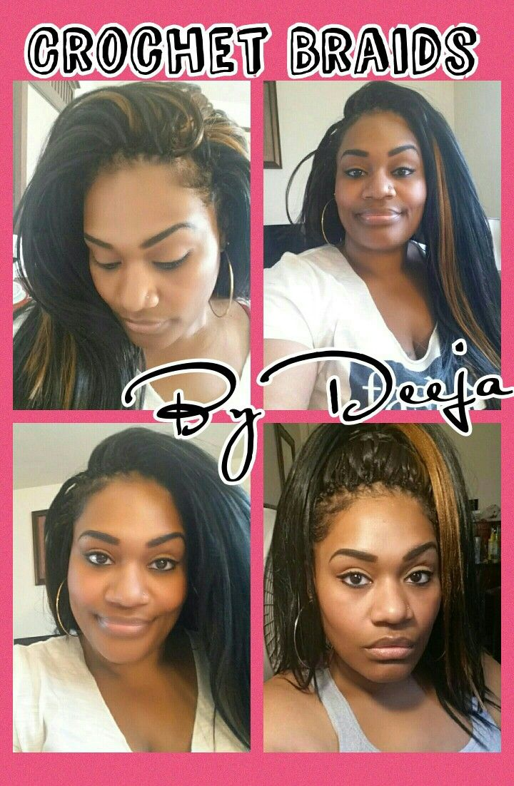Crochet Braids By Deeja Kanekalon Hair Hairdos Pinterest