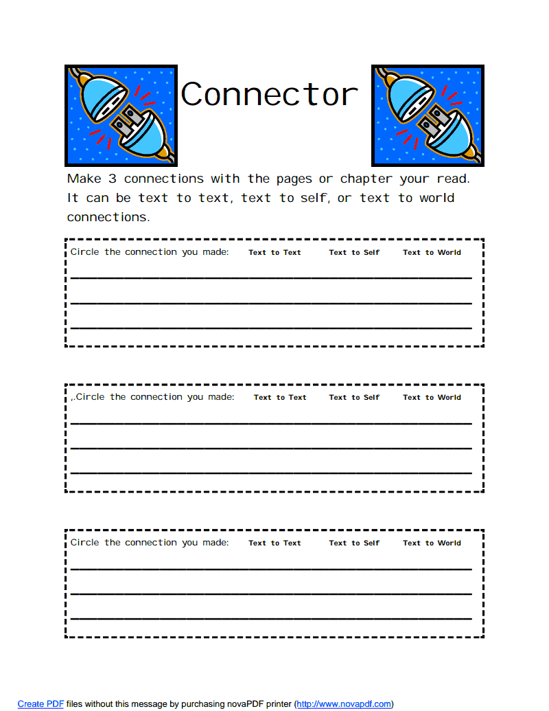 hight resolution of Connector.pdf - Google Drive   Literature circles
