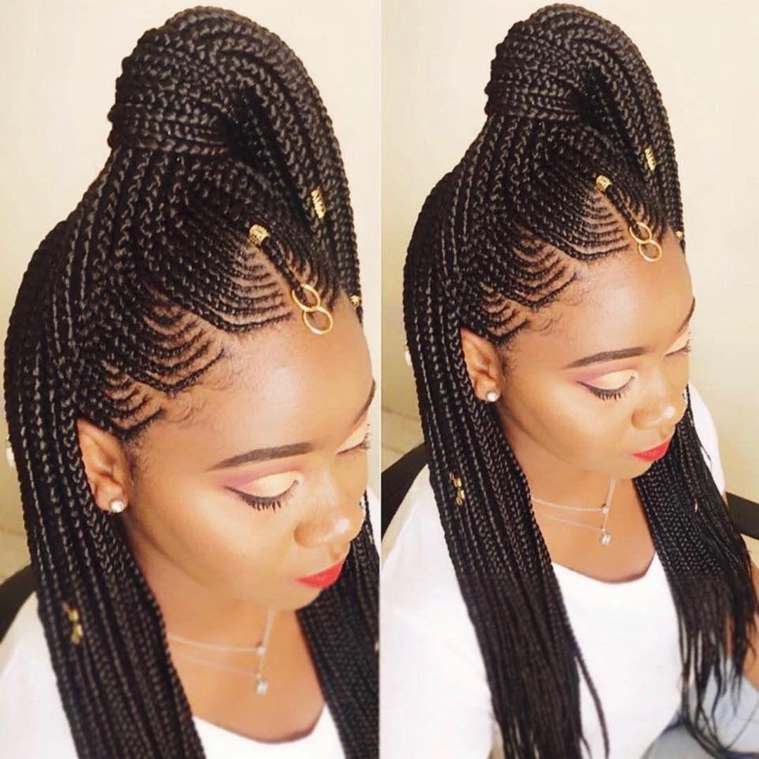 2019 Latest African Braids Braided Hairstyles Hair Styles African Braids