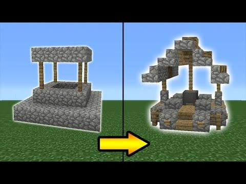 Minecraft Tutorial How To Transform A Village Well