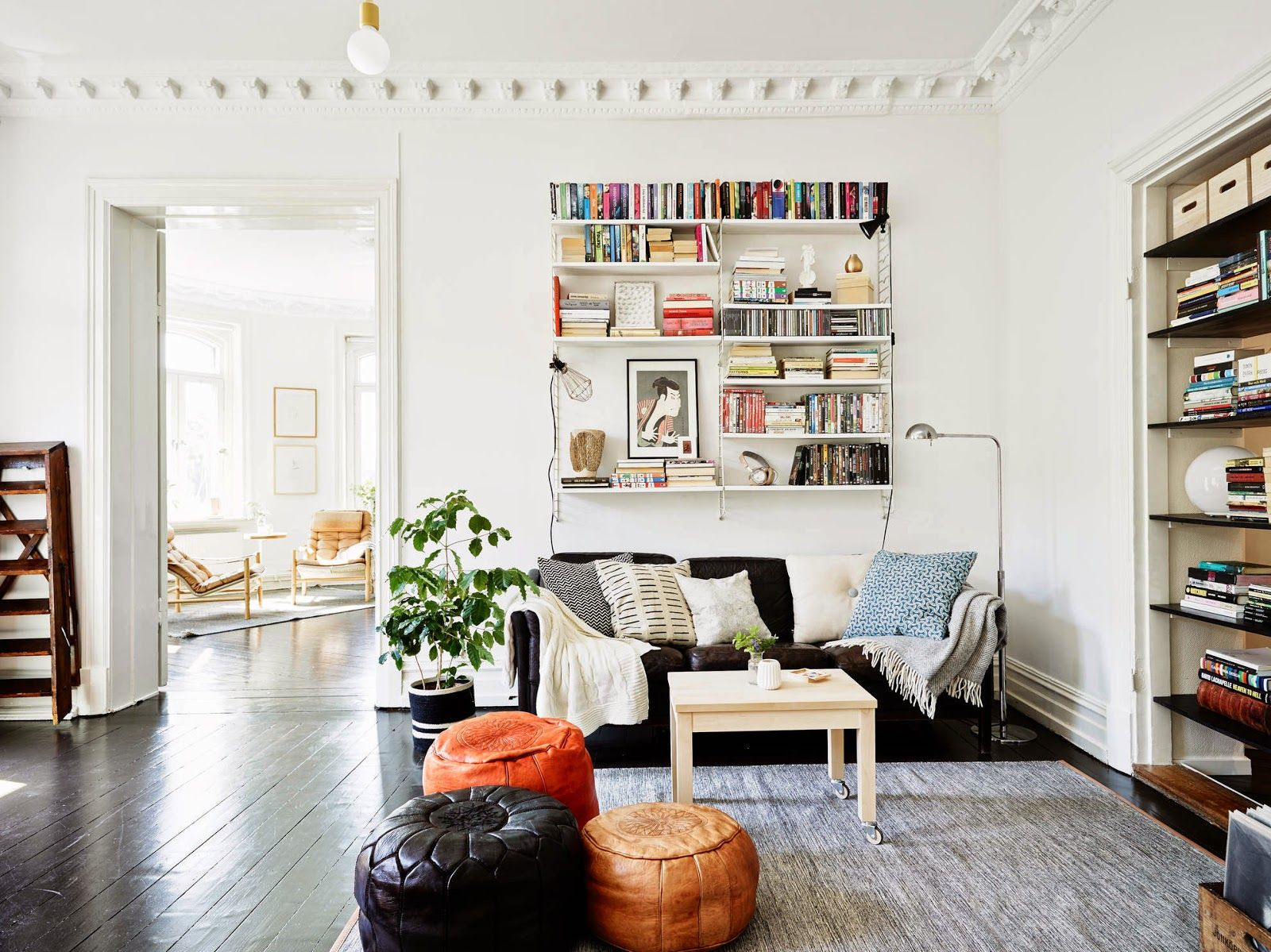 my scandinavian home: A fabulous black and white Swedish home ...