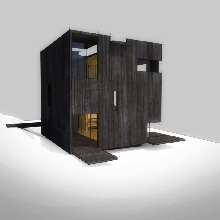 Gallery of Japanese and Chilean Architects Collaborate to Design Houses for the Ochoalcubo Project - 28