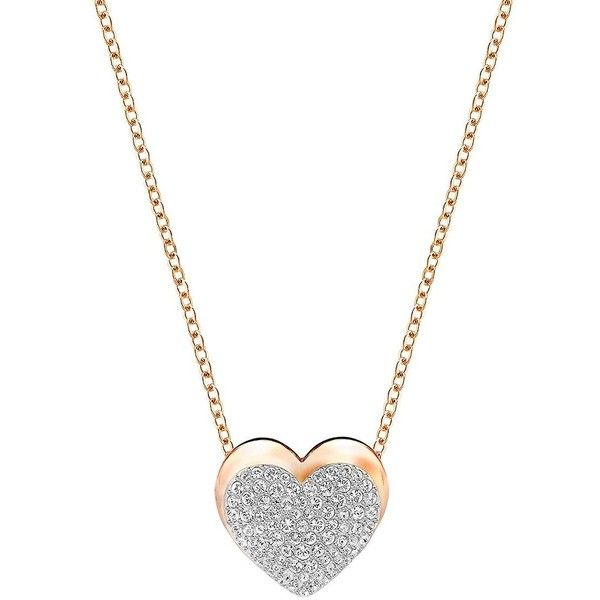 Swarovski Even Crystal and Pendant Necklace 99 liked on