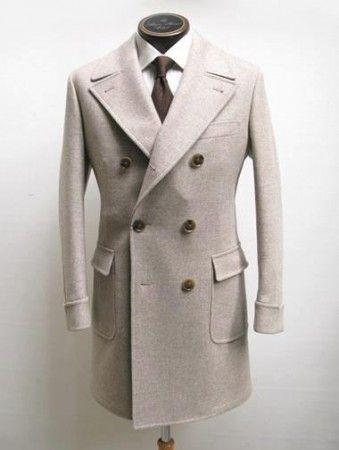 Cruzado Coat Solapas Del Abrigo De Caballero Amplias Hombre Y qfnHXFwaPx