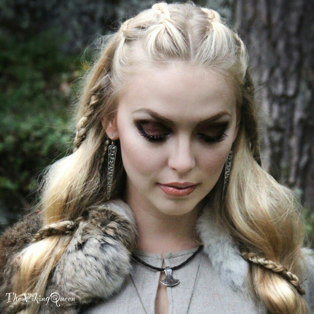 maquillage viking femme