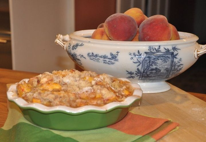 Peach Cobbler, A Story and a Recipe from New England