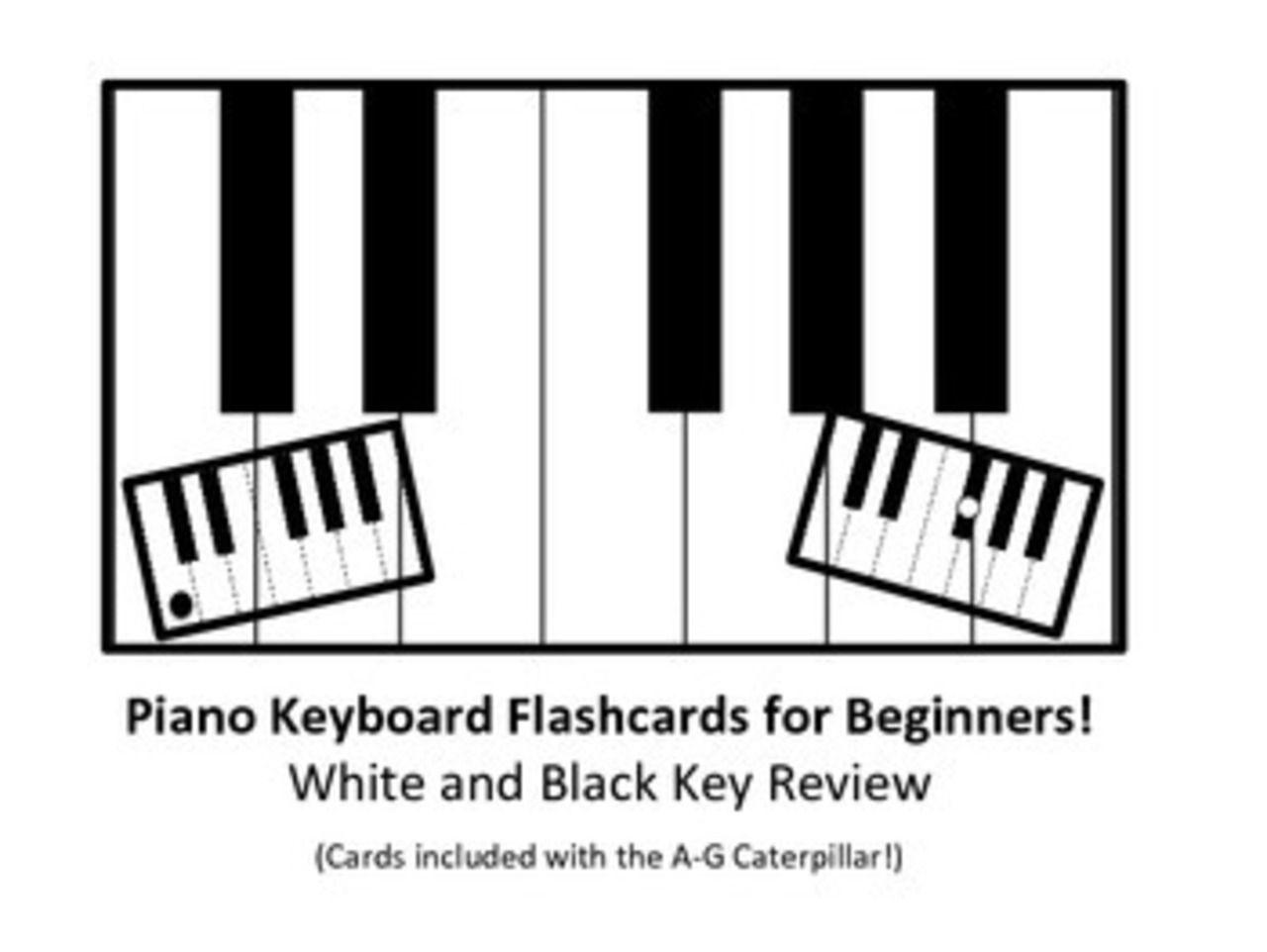 Piano Keyboard Flashcards Flashcards Blues Piano Keyboard Lessons