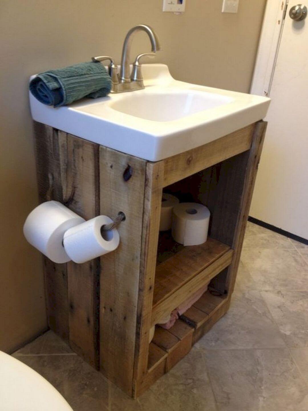 35 Rustikale Badezimmer Eitelkeits Ideen Zum Ihrer Nachsten Erneuerung Anzuregen Rustikale Bad Eitelkeiten Badezimmer Diy Badezimmer Holz