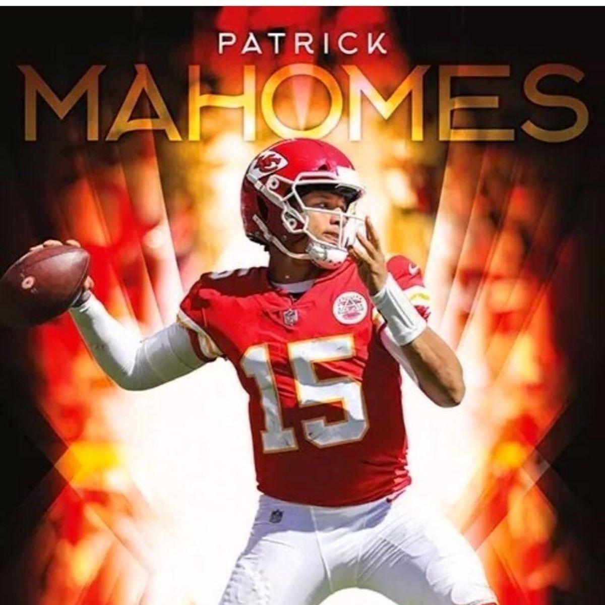 patrick mahomes poster patrick