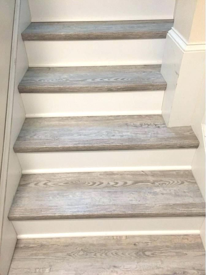 Luxury Vinyl Plank On Stairs Vinyl Plank Stair Nosing