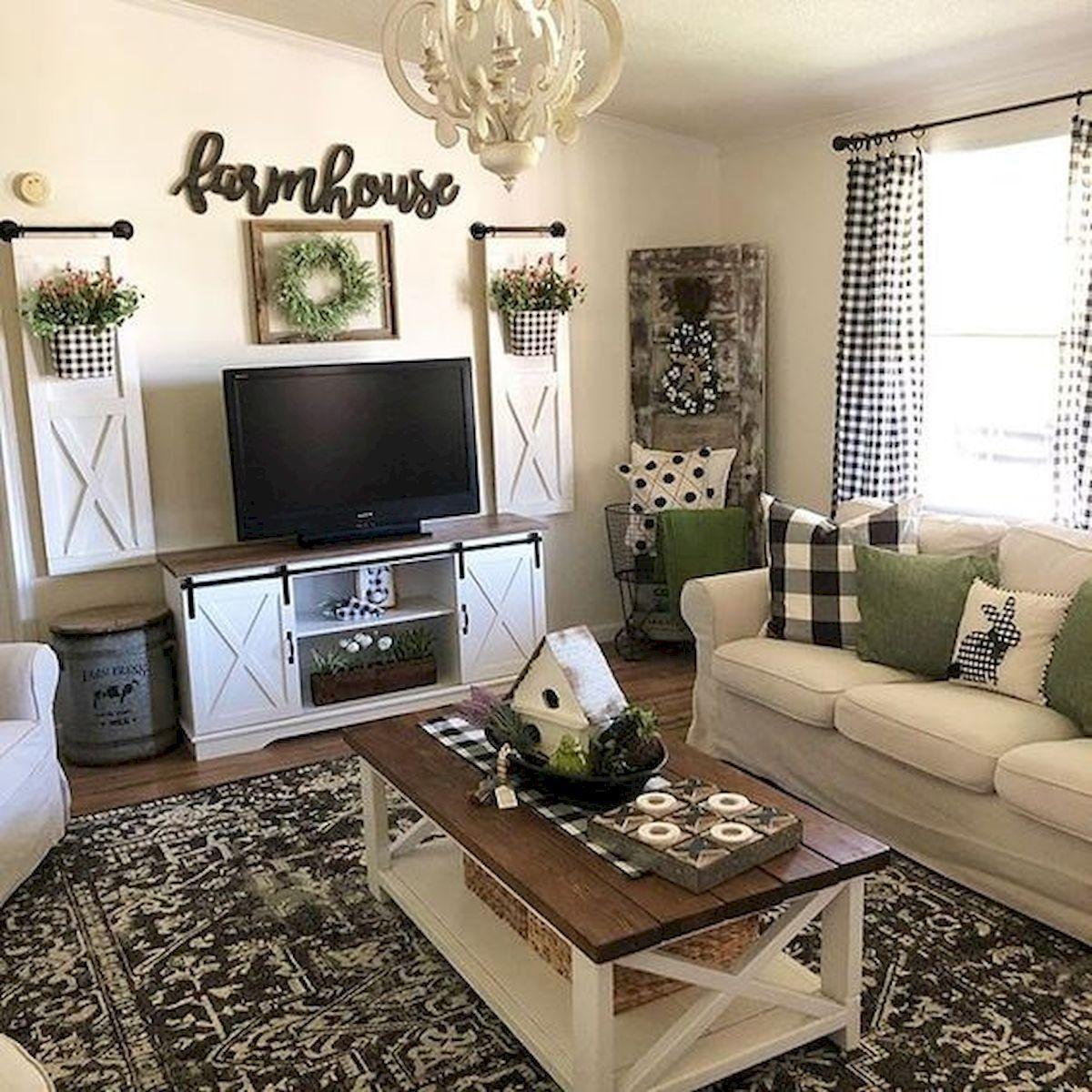 45 idées de décoration et de décoration de salon créatives pour petit appartement  #appartement #cre