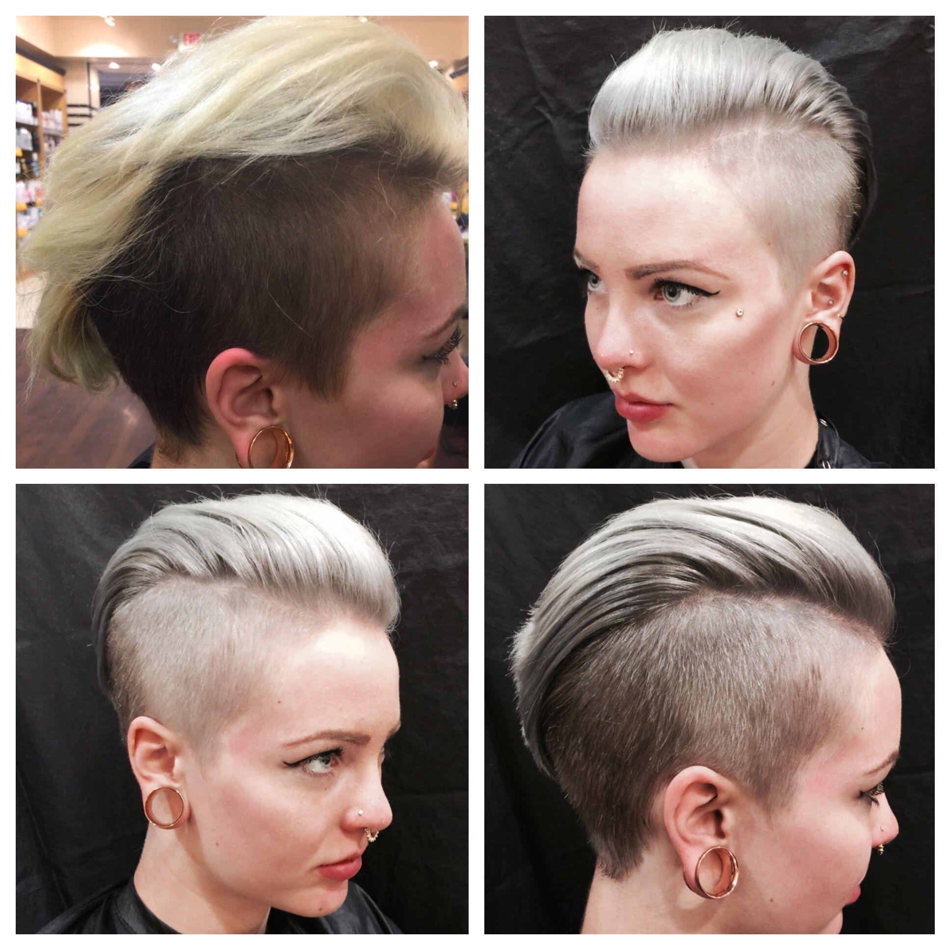 Siver hair by Terri at Mall of America Siver hair, Hair