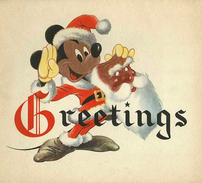 Old Disney Christmas card | Disney Wishes | Pinterest | Disney ...