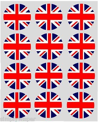 12 London England Royalty British party cupcake toppers//Food picks//Royal Wedding