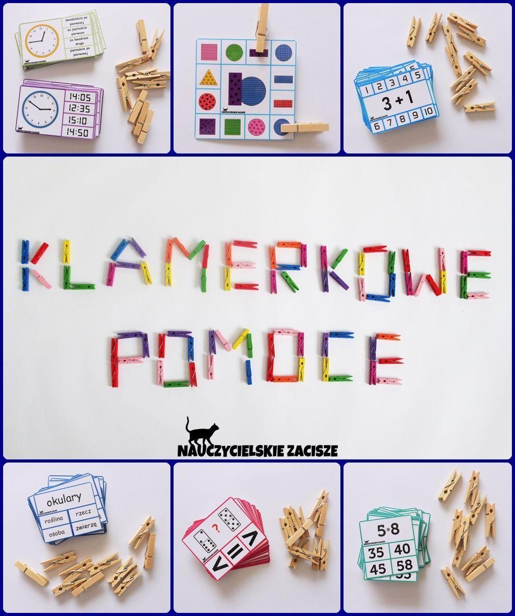 Klamerkowe Pomoce Dydaktyczne Nauczycielskie Zacisze Preschool Lessons Preschool Diy