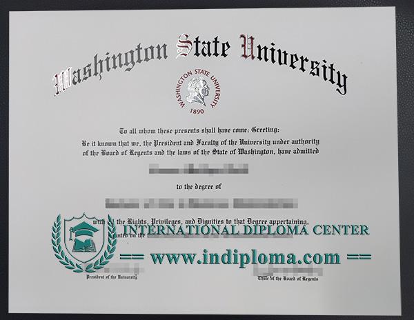 Fake Washington State University Degree Fake Wsu Diploma University Diploma University Degree Washington State University