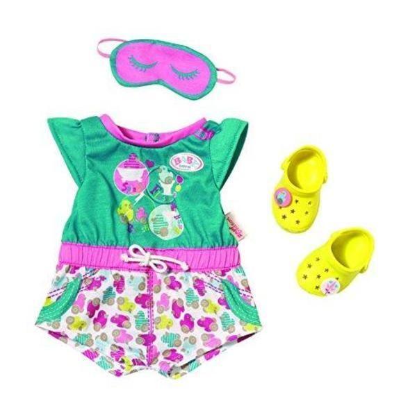 Zapf Creation Baby Born Shorty Pyjama Mit Clogs 822470 In Spielzeug Puppen Amp Zubehor Babypuppen Amp Zubeh Babypuppe Kleidung Baby Geboren Baby Puppen