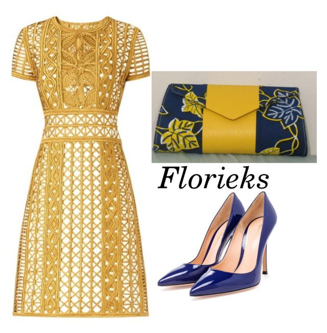"""""""Florieks"""" by sarphowaa on Polyvore featuring Burberry and Gianvito Rossi"""