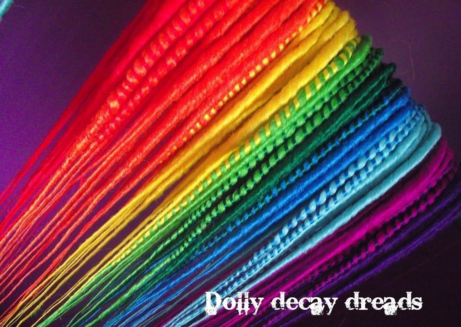 Super awesome fake dreads that you can take in and out and make ANY color you want! .  Free tutorial with pictures on how to make a dreadlock / fall in 10 steps using scissors, hair, and brush. How To posted by Spookymeow. Difficulty: Easy. Cost: 3/5.