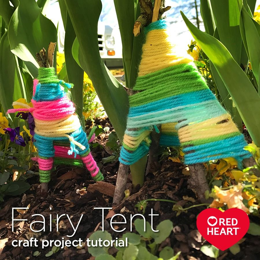 Fairy Tent Craft Project Tutorial -- In Some Parts Of The