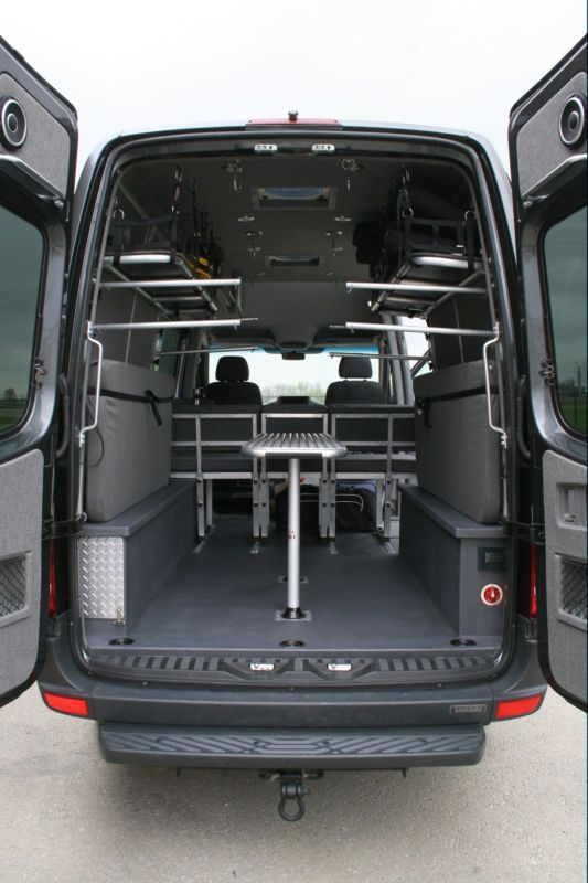 Sprinter Van Camper Van Rugged Adventure Vehicle