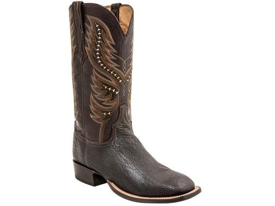 d29314a69b3 Shop New Lucchese H2024 Garrick Mens Shark and Ranch Hand Leather ...