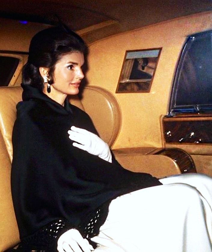 """Classic Jackie <3 She is the one who inspired me to make my board """"Vintage Fashion"""" she is the best style icon ever"""
