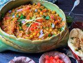 Instant Pot Kolkata Ghugni Chaat – Indisches Straßenessen   – Desi Street Food