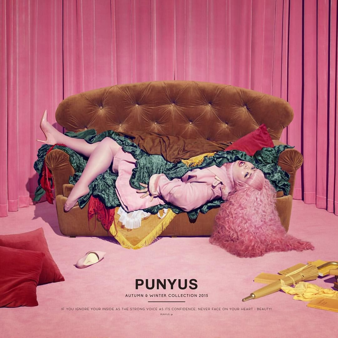 Instagram 上的 渡辺直美:「 PUNYUS 2015 AW #punyus #吉田ユニ #hamburger #ハンバーガーイメージ #展示会最終日 」
