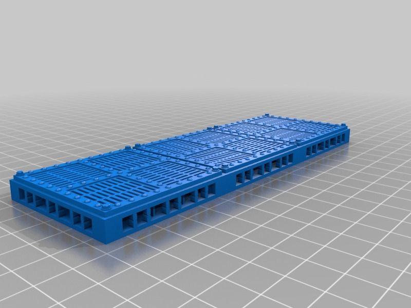 Open Lock Grate floor by gordvan  | Miniatures | Flooring, Types of