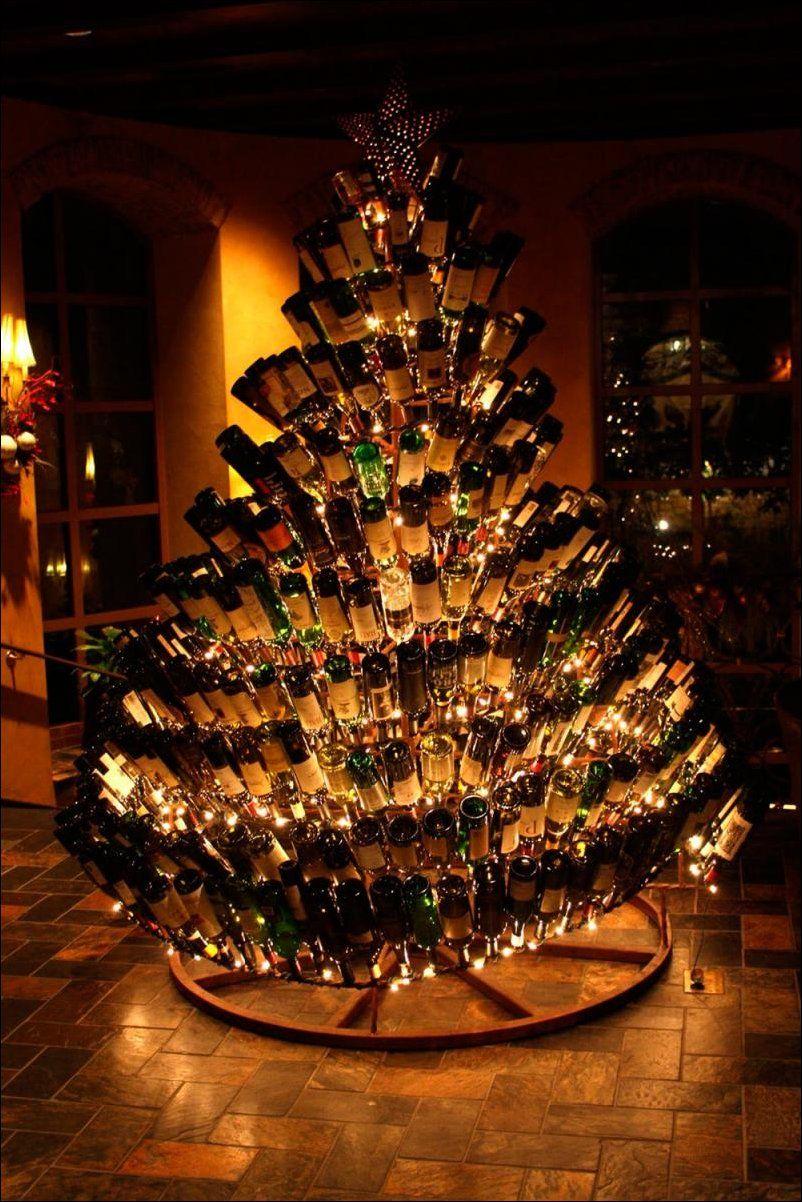 62436d11ffb 25 Increíbles ideas para darle un cambio a tu árbol de Navidad ...