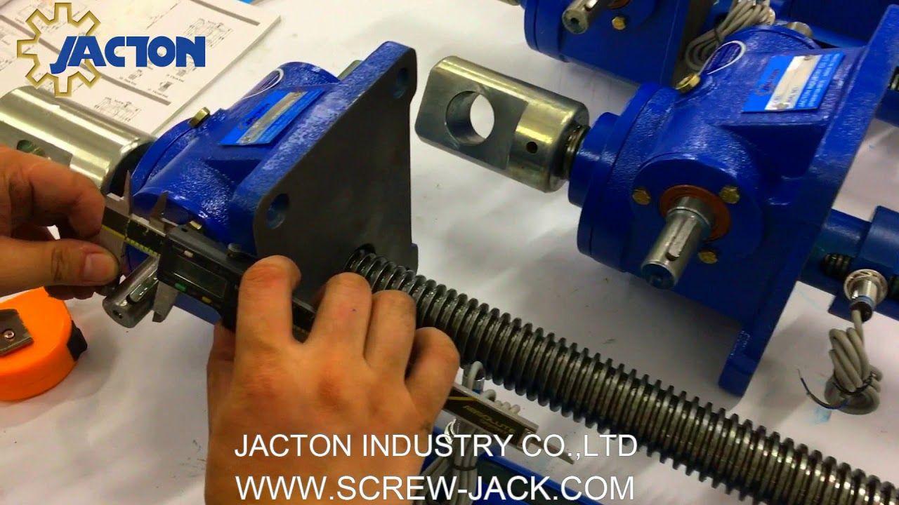 Russia Customer Best Quality Acme Threaded Screw Jack 5 Ton 24 1 980mm W Acme Thread Gear Drive Make It Yourself
