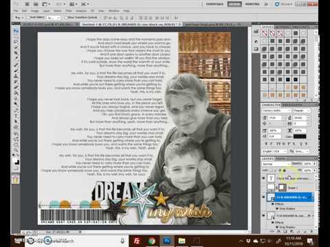 Text box in photoshop
