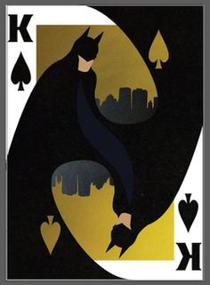 Image result for batman playing cards