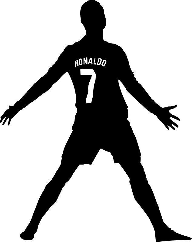 Silhouette Ronaldo Google Suche Ronaldo Cristiano Ronaldo Silhouette