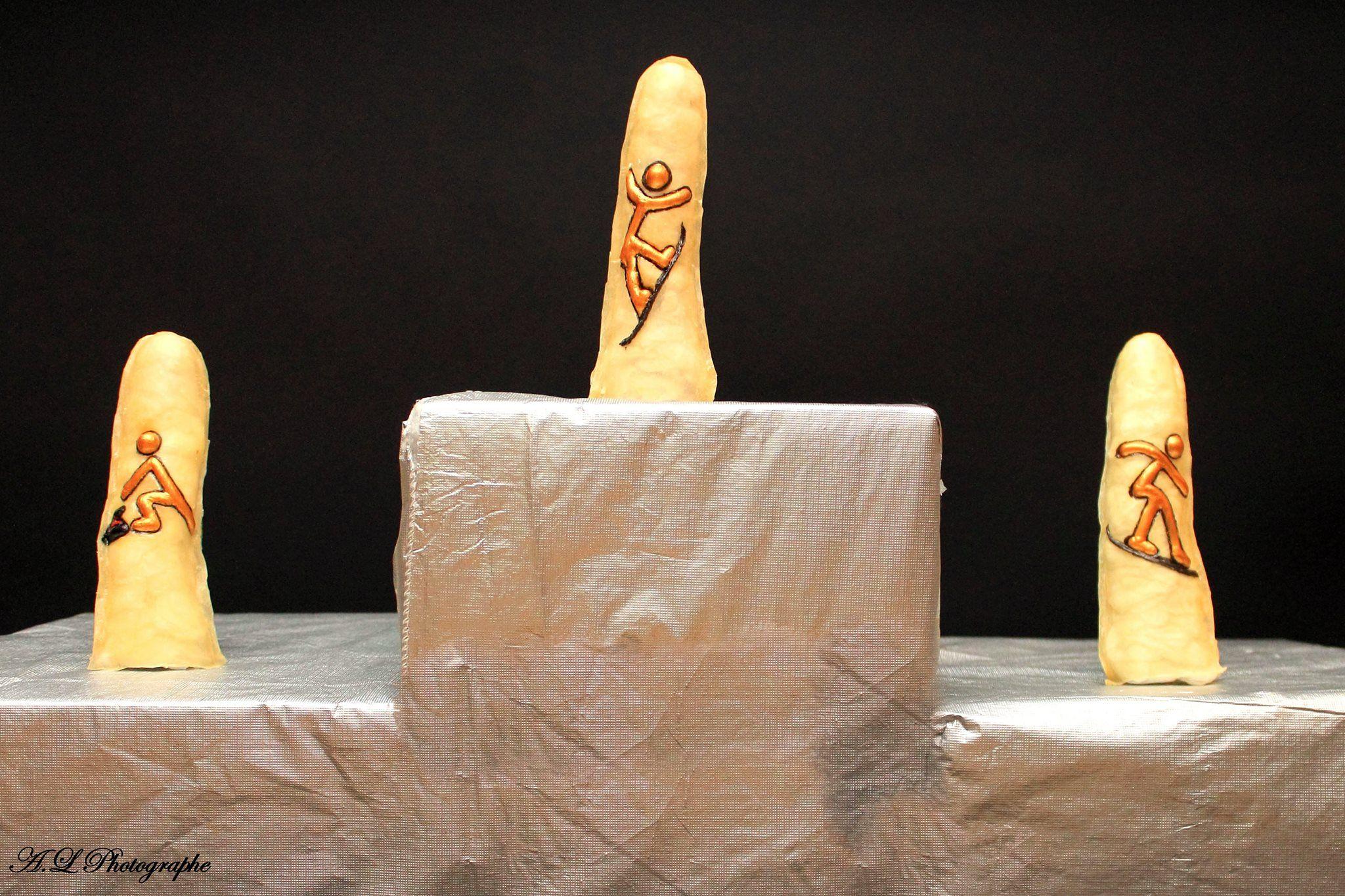 Prototypes de condom 3D Curling, Halfpipes Cross et Surf des neiges