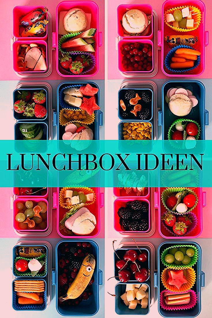 Lunchbox Ideen Lunchbox Ideas Ideen Brotdose In 2020 Lunch