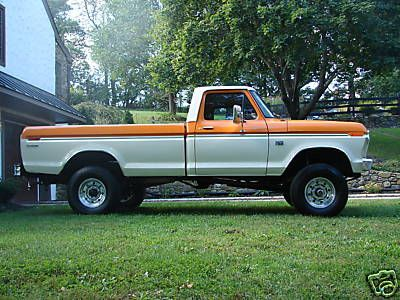 1975 Ford Truck F250 1975 Ford F250 Highboy Nicest Restoration