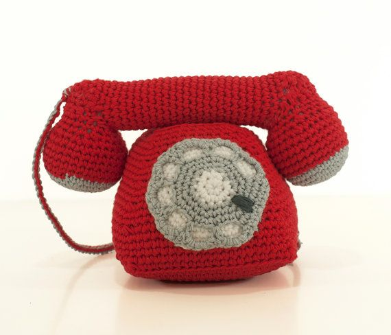 Patrón ganchillo teléfono EN INGLÉS tutorial por bigunki en Etsy ...