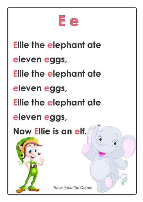 Abc Rhymes Posters Bundle Kidspressmagazine Com Alphabet