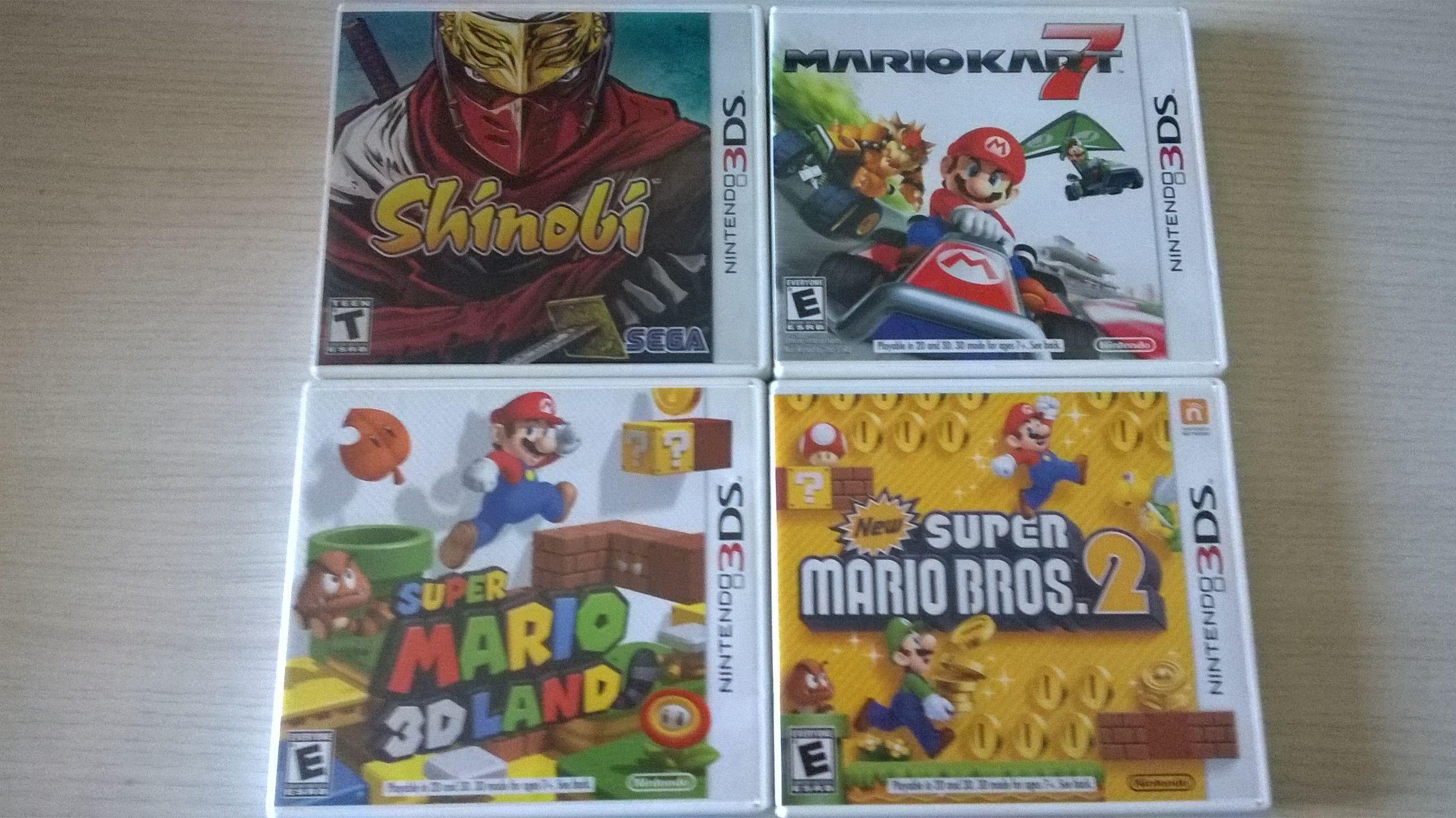 Vendo jogos DS e 3DS, CDs de OSTs (+Dragon Quest, + Castlevania, e outros) 242f518620c6597167f08eda454e2638