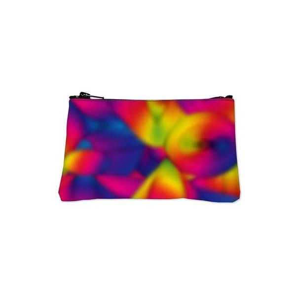 Colorful Art Deco Coin Purse ($20) found on Polyvore