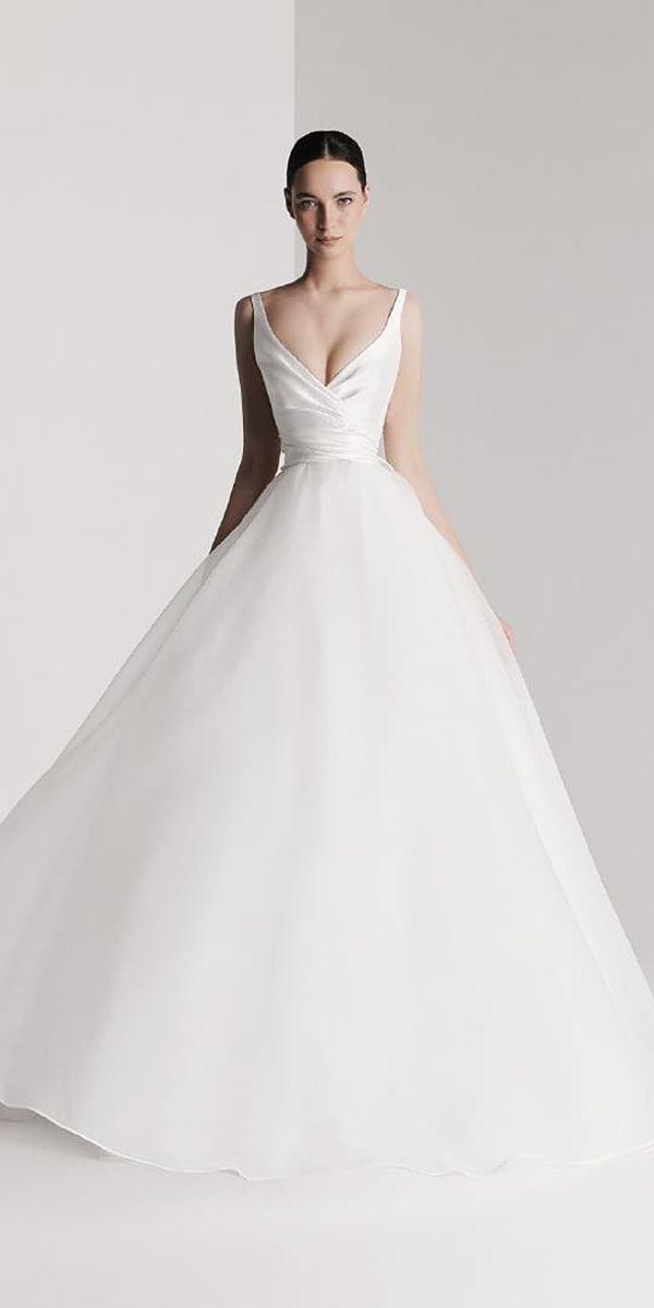 30 Simple Wedding Dresses For Elegant Brides Matrimonio Pinterest And