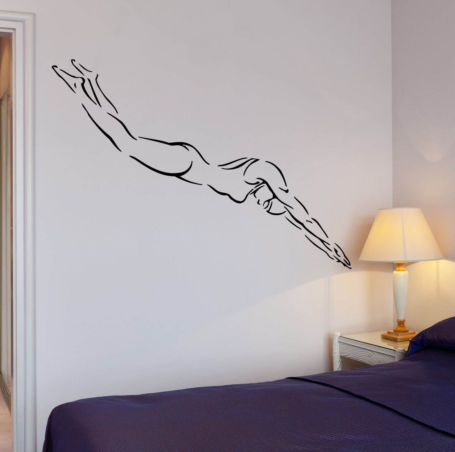 Room · Wall Decal Swim Swimmer Water Sport ... Part 57