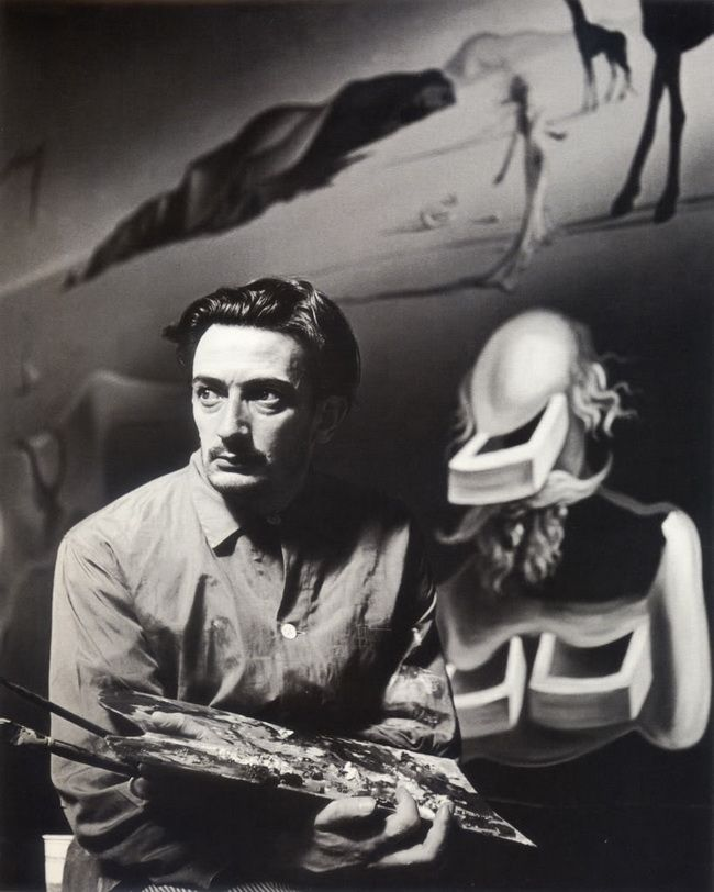 surrealist-art-photograph-of-young-salvador-dali-with ...