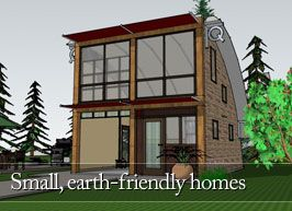 Small Earth Friendly Home