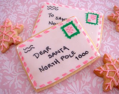 Letter to Santa Cookies